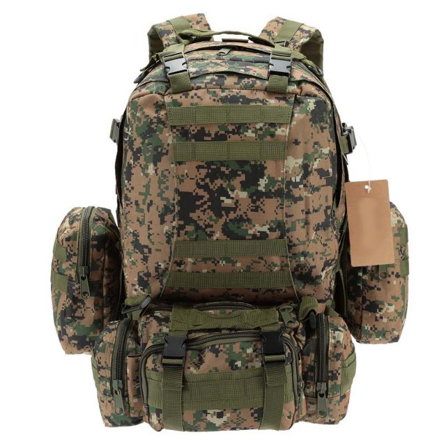 Pack a Tactical Backpack