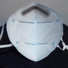 K95 Respirator Mask Inside Angle